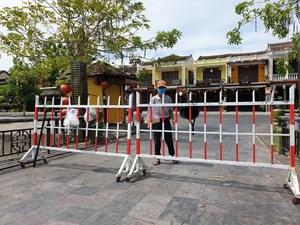 Quảng Nam: TP Hội An phong tỏa khối phố có 3 ca mắc Covid-19