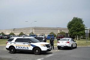 Mỹ: Nổ súng gây thương vong bên ngoài trụ sở Bộ Quốc phòng