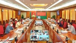 Kỷ luật, đề nghị kỷ luật tổ chức đảng và nhiều cựu lãnh đạo TP Hà Nội