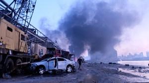 Nhân chứng vụ nổ kinh hoàng ở Beirut: 'Chúng tôi không còn lại gì'