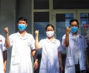 38 y bác sĩ tỉnh Phú Thọ vào hỗ trợ tỉnh Quảng Nam phòng, chống dịch Covid-19
