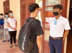 Thái Bình: Bố trí phòng thi riêng 8 thí sinh liên quan dịch Covid-19
