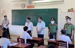 Quảng Nam: Bí thư Tỉnh ủy kiểm tra công tác phòng, chống dịch