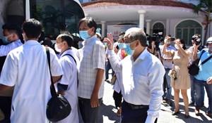 Thừa Thiên - Huế cử 40 cán bộ y tế chi viện cho Đà Nẵng