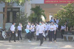 Quảng Nam, Quảng Ngãi: 233 thí sinh vắng thi môn Ngoại ngữ