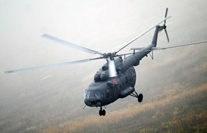 Nga: Rơi trực thăng, 7 người mất tích