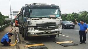 Cân hiện đại tự động kiểm tra trọng tải xe