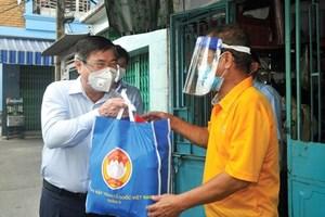 TP Hồ Chí Minh: Dồn sức hỗ trợ người dân có hoàn cảnh khó khăn