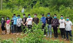 Cao Bằng: Bắt giữ, cách ly y tế 15 người nhập cảnh trái phép từ Trung Quốc