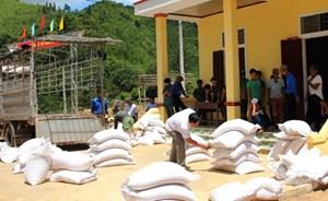 Đề xuất hỗ trợ hơn 130.000 tấn gạo cho 24 địa phương