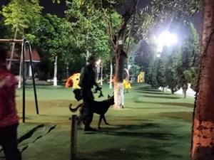 Bắc Ninh: Sử dụng chó nghiệp vụ tìm kiếm cháu bé 2 tuổi mất tích
