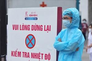 Hà Nội: Phòng chống Covid-19 ngay tại bệnh viện