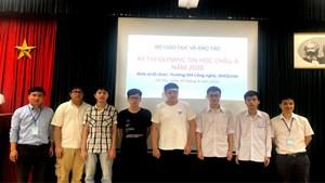 6 học sinh Việt Nam giành huy chương tại Olympic Tin học châu Á Thái Bình Dương