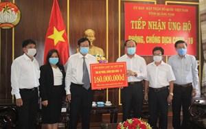 Mặt trận tỉnh Quảng Nam ủng hộ chống dịch Covid-19