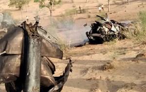 Ấn Độ: Máy bay quân sự gặp nạn khi bay huấn luyện