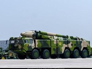 Trung Quốc phóng 'tên lửa sát thủ diệt tàu sân bay' ra Biển Đông