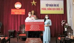TP Đà Nẵng tiếp nhận ủng hộ phòng, chống dịch Covid-19 trị giá 1 tỷ đồng