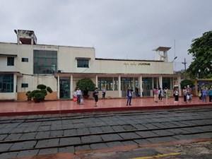 Ga Hải Dương mở cửa đón khách trở lại sau khi hết hạn cách ly xã hội