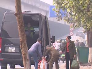 Xác minh tố cáo CSGT 'bảo kê' điểm đón khách trái phép ở Thanh Xuân