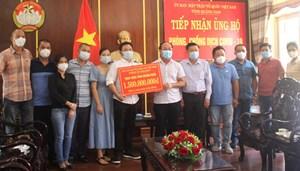 Mặt trận tỉnh Quảng Nam tiếp nhận 1,5 tỷ đồng ủng hộ phòng, chống dịch Covid-19