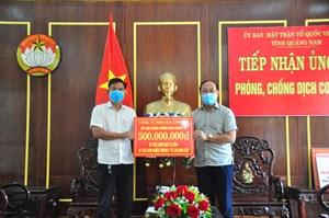 Quảng Nam: Lắp đặt máy ATM gạo và khẩu trang tặng người dân
