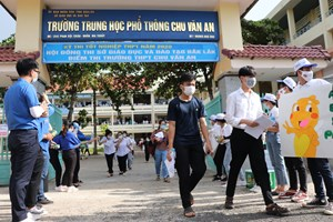 Đắk Lắk: Thí sinh thở phào nhẹ nhõm sau kỳ thi 'đặc biệt'