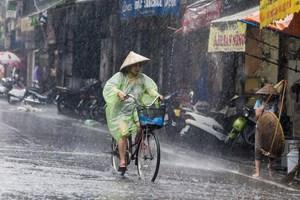 Bắc Bộ vào đợt mưa dài ngày
