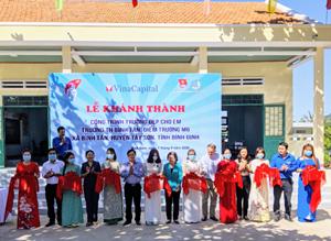 Bình Định: Khánh thành, bàn giao công trình 'Trường đẹp cho em'