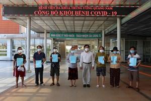 Quảng Nam: Thêm 19 bệnh nhân Covid-19 được xuất viện