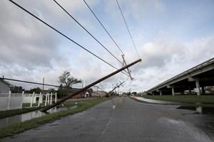 Mỹ: Nửa triệu dân tại bang Louisiana và Mississippi vẫn chưa có điện