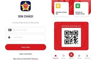 Bộ Công an triển khai app khai báo y tế điện tử VIEID