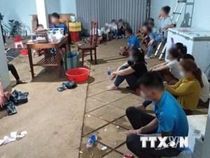 Đắk Nông: Triệt phá vụ đánh bạc mang tính chất tinh vi, quy mô lớn