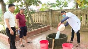 Cảnh giác nguy cơ dịch bệnh mùa mưa lũ
