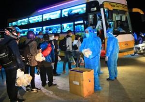 Ninh Thuận: Tổ chức đón các thai phụ, phụ nữ đang nuôi con nhỏ về quê