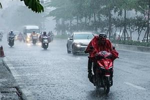 Bắc Bộ tiếp tục có mưa lớn, đề phòng lốc sét và gió giật mạnh