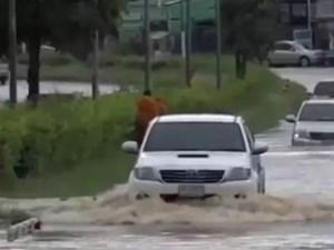 Bão nhiệt đới Noul gây lũ lụt, ảnh hưởng tới 22 tỉnh ở Thái Lan