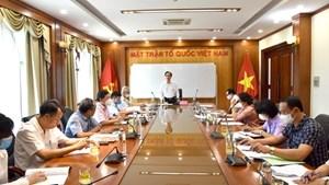 BẢN TIN MẶT TRẬN: Phát huy vai trò của MTTQ Việt Nam trong tình hình mới