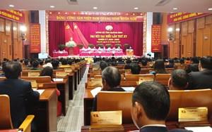 Thông qua chương trình Đại hội đại biểu Đảng bộ tỉnh Quảng Ninh lần thứ XV