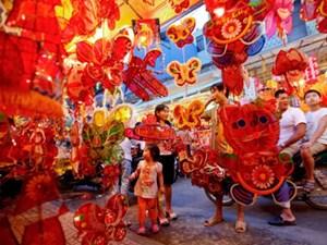 Nhiều điểm vui chơi Tết Trung thu trên phố cổ Hà Nội