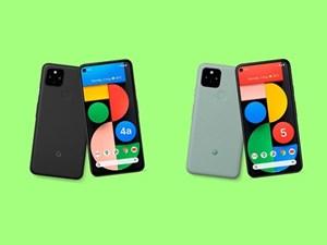 Google giới thiệu hai mẫu smartphone Pixel 5 và 4a mới trang bị 5G