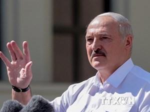 Anh và Canada áp đặt trừng phạt với Tổng thống Belarus Lukashenko