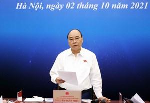 Chủ tịch nước Nguyễn Xuân Phúc: Khó khăn lớn nhất đã nằm lại phía sau