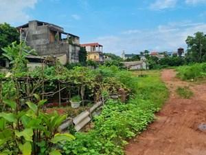 Dự án khu nhà ở Bắc Sơn - Sông Hồng (TP Thái Nguyên): Chậm tiến độ, dân bức xúc