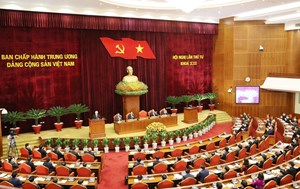 Ngày làm việc thứ nhất của Hội nghị lần thứ 4 Ban Chấp hành Trung ương Đảng khoá XIII