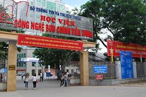 Học viện Công nghệ Bưu chính viễn thông có điểm chuẩn cao nhất 26,65