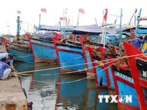 Vùng áp thấp đi vào vùng biển Phú Yên - Khánh Hòa gây mưa lớn