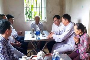 Lâm Đồng: Thăm hỏi, hỗ trợ các gia đình có học sinh bị đuối nước