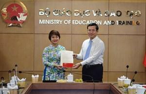 PGS.TS Nguyễn Thu Thủy chính thức là Vụ trưởng Vụ Giáo dục Đại học