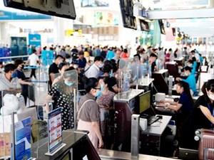 Lượng hành khách qua Cảng hàng không Nội Bài tăng trưởng trở lại