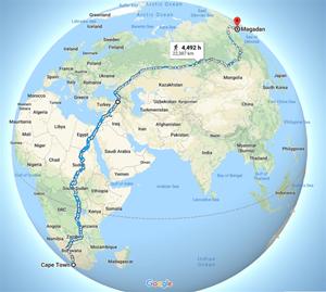 Con đường đi bộ dài nhất thế giới
